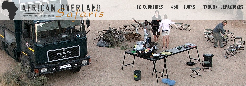 African Overland Safaris and Adventure Tours